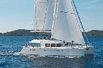 Photo of crewed charter sailing catamaran Blue Moon