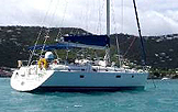photo of crewed charter sailing yacht antillean