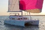 photo of crewed charter sailing yacht avalon