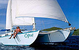 Photo of crewed charter sailing trimaran Opus